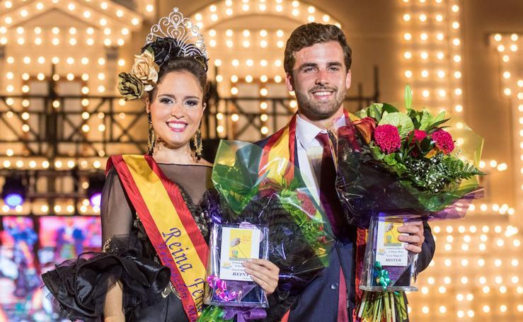 Fotos de la gala de elección de la Reina y el Míster de la Feria de Málaga 2017
