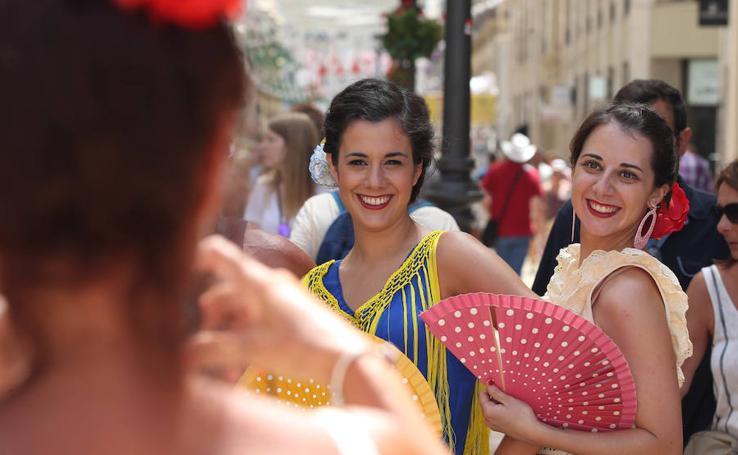 El Centro vive con intensidad el viernes de Feria