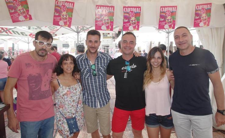 La Caseta Abanico, este viernes de Feria