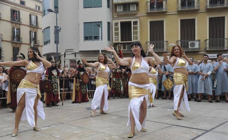 Fotos de la Cabalgata Histórica de Málaga 2017
