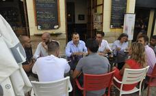 Ruiz Espejo reafirma su compromiso con los colectivos LGTBI de la provincia