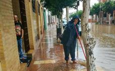 Fotos de la tromba de agua por la Dana en la provincia de Málaga