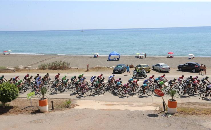 El paso de la Vuelta Ciclista a España por Málaga