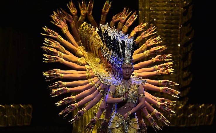 Un espectáculo chino de ensueño en Bogotá