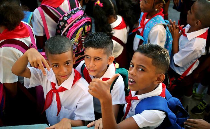La vuelta al cole en Cuba