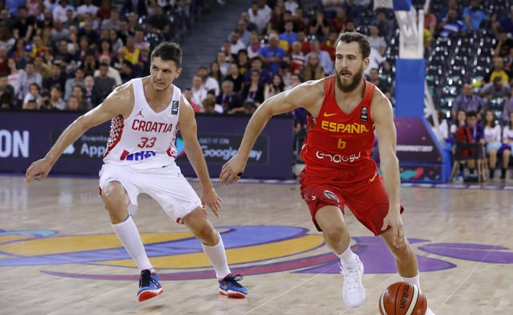 La victoria de España ante Croacia, en imágenes