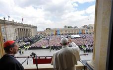 El Papa impulsa la paz en Colombia