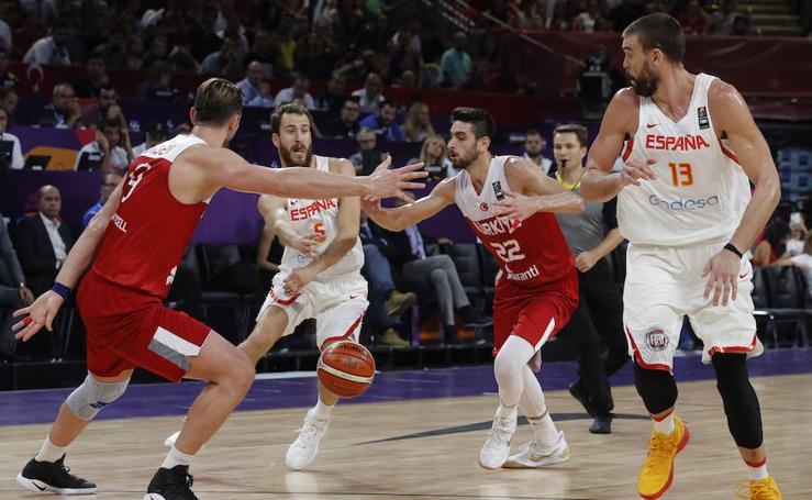 La victoria de España frente a Turquía en el Eurobasket