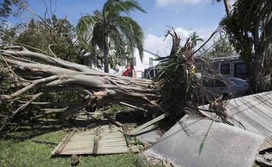 El avance del huracán Irma por Cuba, en fotos