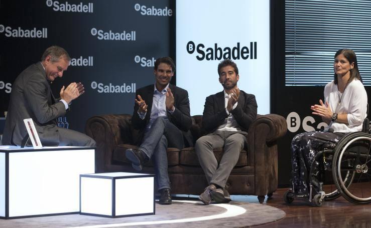 Fotos del Encuentro Banco Sabadell en Málaga con Rafa Nadal