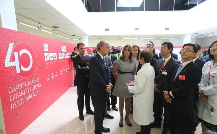 Fujitsu Ten España cumple 40 años en Málaga