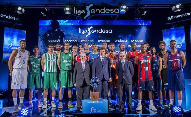 La presentación de la Liga Endesa, en imágenes