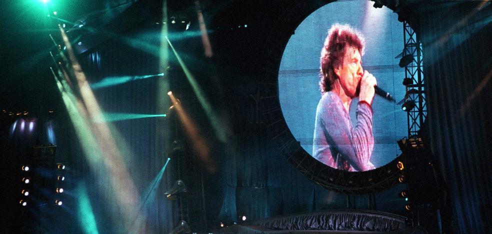 Así fue el histórico concierto de los Rolling Stones en Málaga