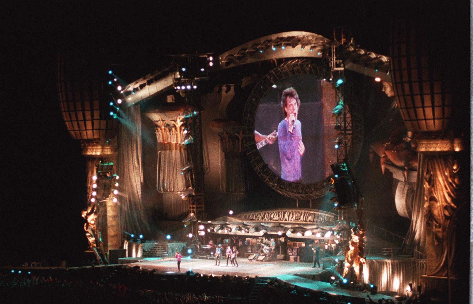 El concierto de los Rolling Stones en Málaga en 1998, en imágenes