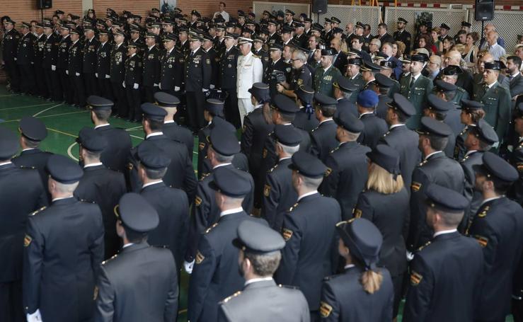 Las mejores fotos del día del Cuerpo Nacional de Policía en Málaga