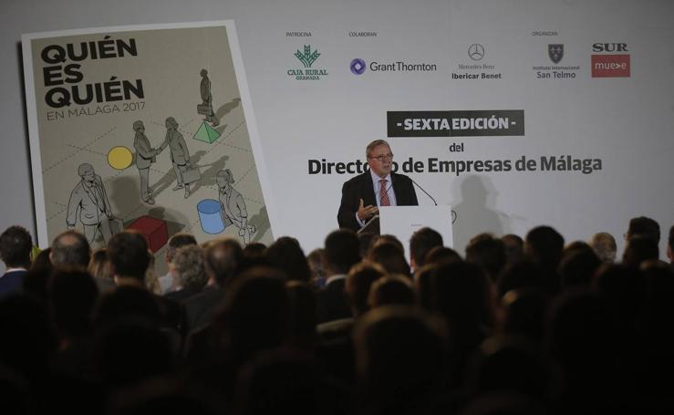La presentación de 'Quién es Quién en Málaga', en fotos