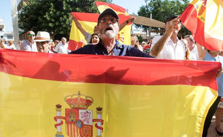Fotos de la manifestación en Fuengirola por la unidad de España