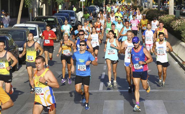 La carrera urbana El Torcal-La Paz, en imágenes (I)