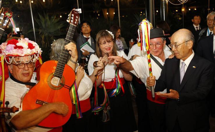 La cena de inauguración de 'Japón llega a Málaga', en imágenes