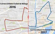 Así ha cambiado el recorrido de la Carrera Urbana Ciudad de Málaga del próximo 22 de octubre de 2017