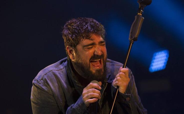 El concierto de Antonio Orozco en Málaga, en imágenes