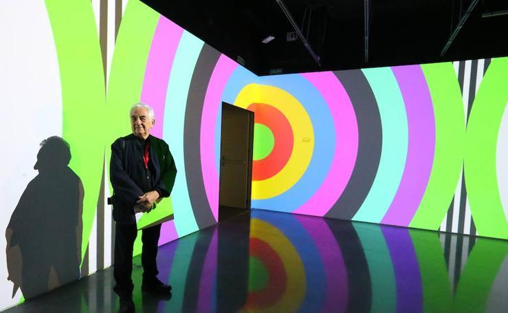 La exposición de Daniel Buren llega al Pompidou