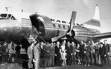 El avión que trajo a las suecas a Málaga se puede visitar