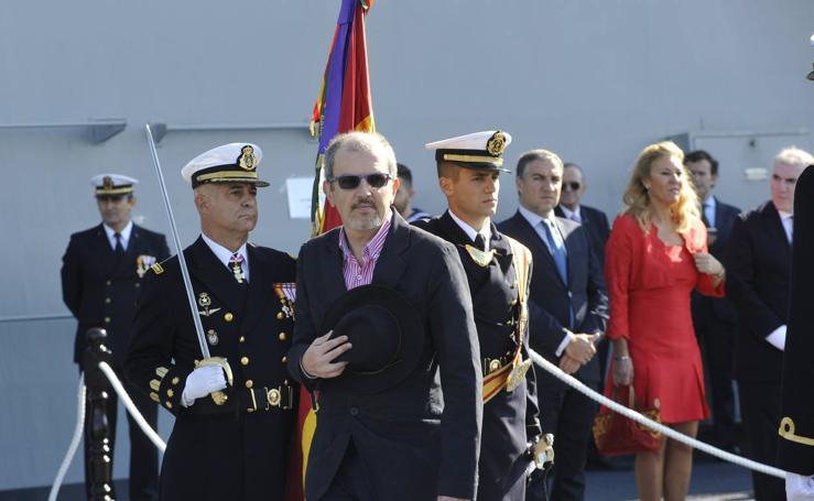 Fotos de la jura de bandera civil en el portaaviones Juan carlos I en Málaga (IV)