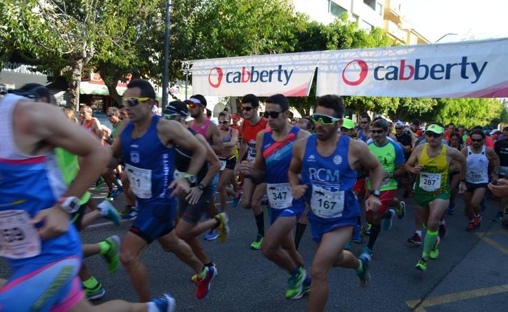 La octava edición de la Media Maratón de Rincón de la Victoria, en fotos