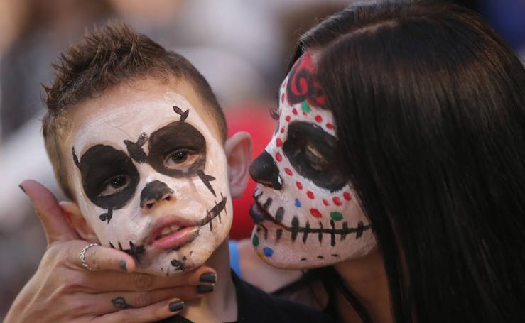 Así vive Málaga la fiesta de Halloween