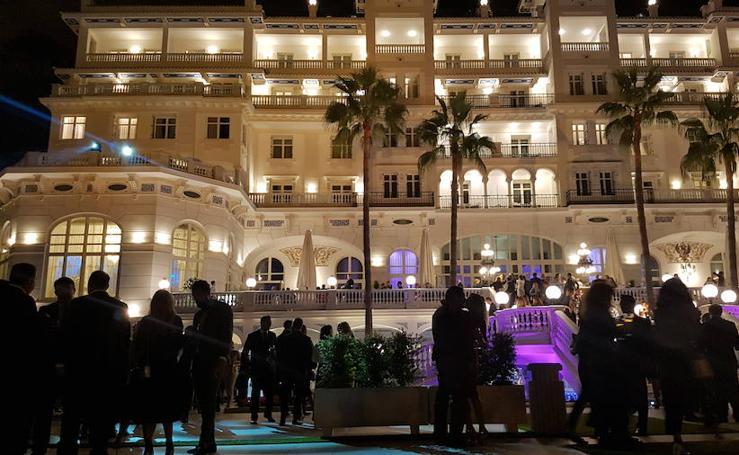 Invitados a la reapertura del Gran Hotel Miramar