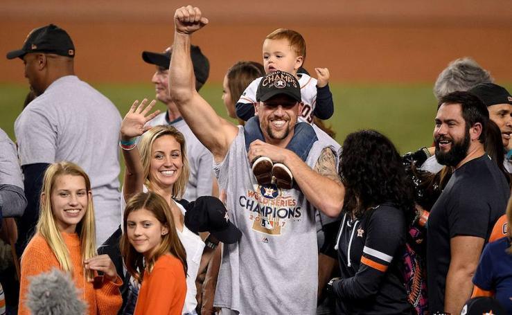 Así fue la celebración de los Houston Astros tras ganar las Series Mundiales
