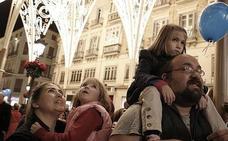 Este sábado, 6 de enero, último día del espectáculo de luces de Navidad de la calle Larios y este es su horario