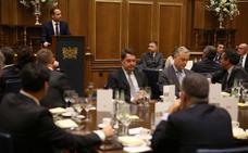 La cena organizada por Prensa Malagueña en la WTM, en fotos