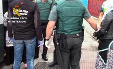 Desarticulan una banda especializada en robar a ancianos por el método del abrazo
