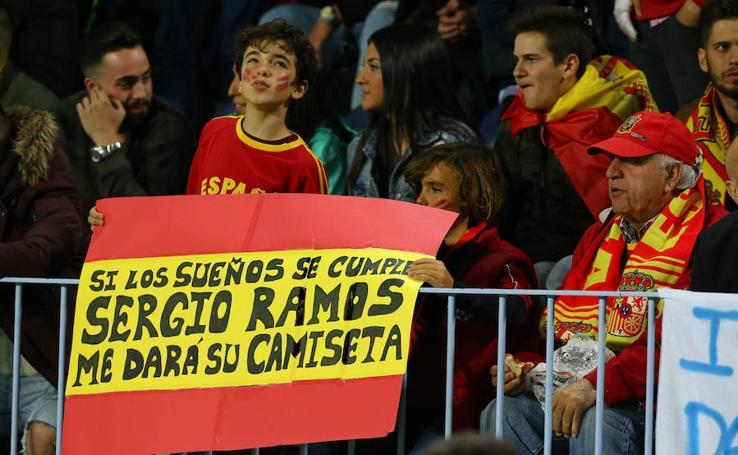 La Rosaleda cuelga el cartel de completo para ver a España