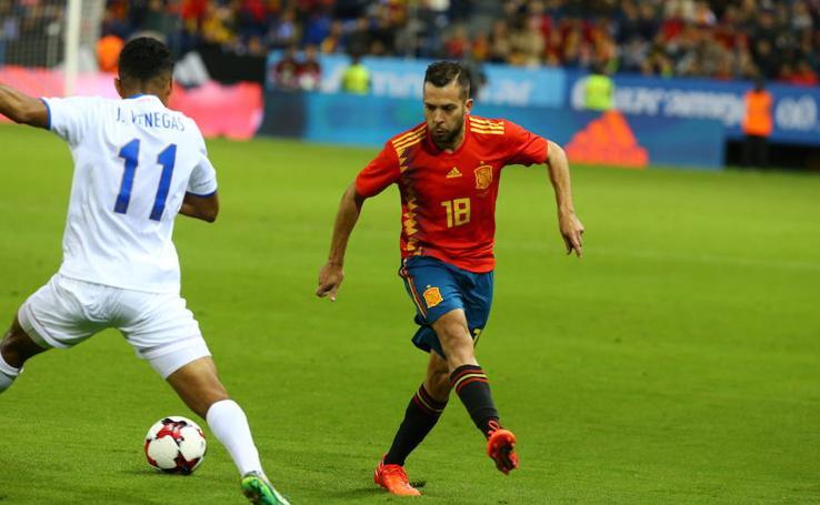 Así ha sido el partido entre España-Costa Rica, en fotos