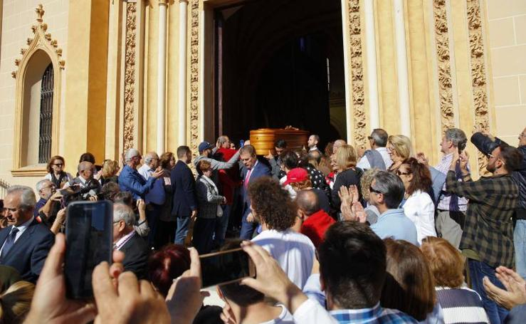 Misa funeral en memoria de Chiquito de la Calzada