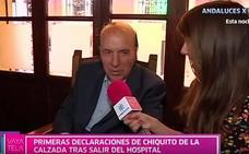Canal Sur recogió las últimas declaraciones en televisión de Chiquito de la Calzada