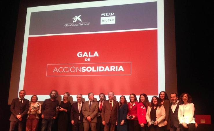 La I Gala Acción Solidaria, en fotos