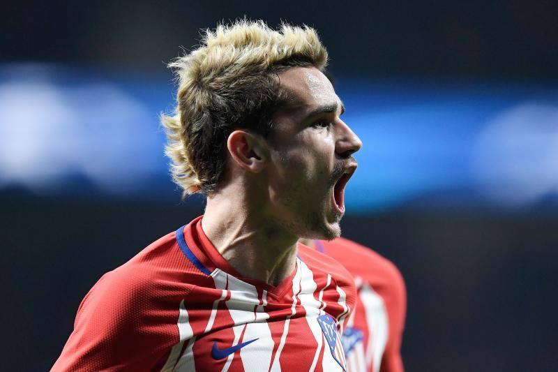 El Atlético-Roma, en imágenes