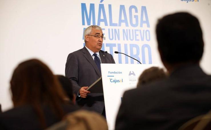 Foro SUR 'Málaga, ante un nuevo futuro', con el consejero de Economía y Conocimiento, Antonio Ramírez de Arellano