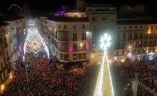 Málaga enciende la Navidad
