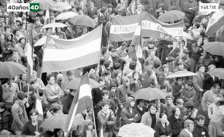 Manifestación del 4 de diciembre de 1977 en defensa de la autonomía de Andalucía