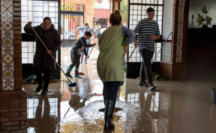 Fotos de Campillos inundado por una tromba de agua