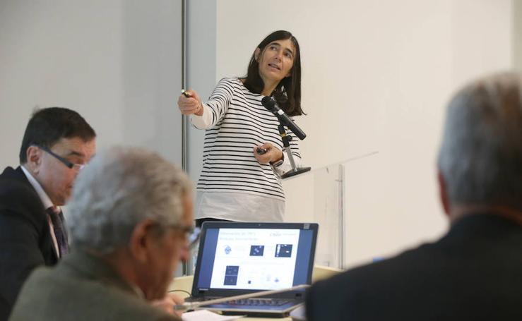 Las mejores fotos del encuentro entre María Blasco y Emilio Alba