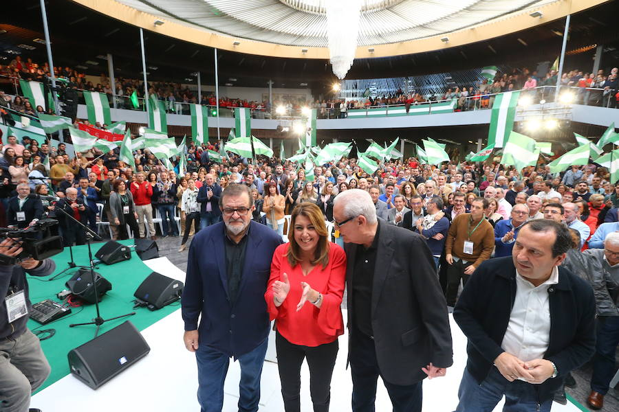 Acto del PSOE-A en Torremolinos en en el aniversario del 4D