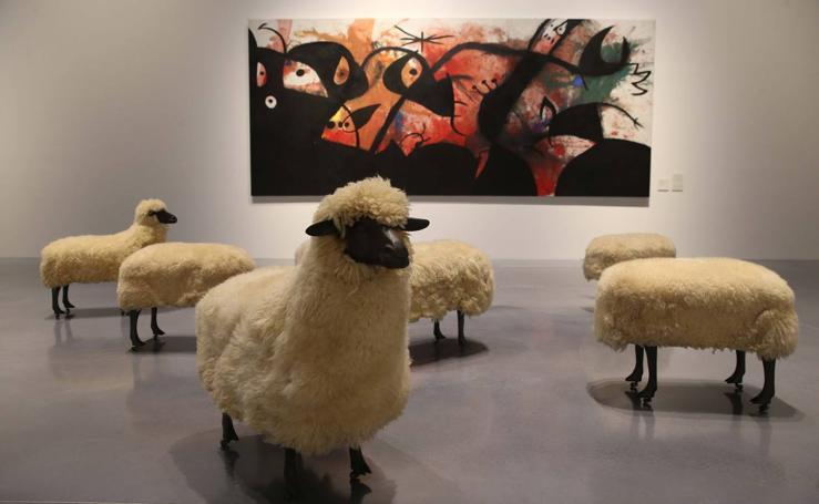 Así es 'Utopías modernas', el nuevo montaje del Pompidou Málaga