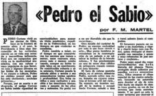 Pedro el Sabio, el vecino de Ojén que 'hablaba' con extraterrestres