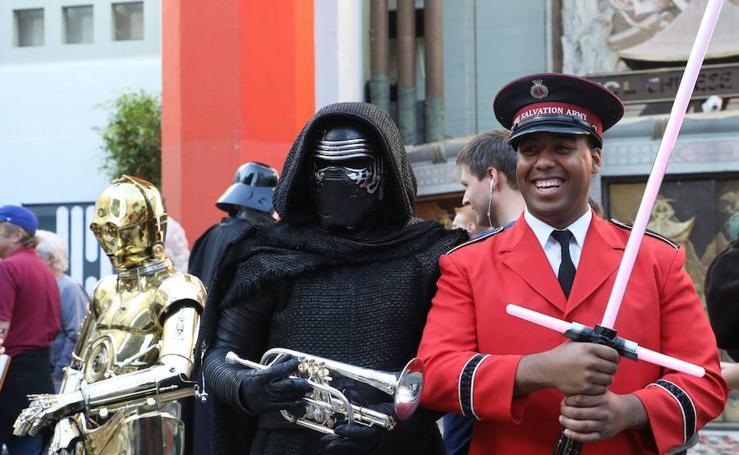 Los fans de Star Wars no se pierden el estreno de Los últimos Jedi